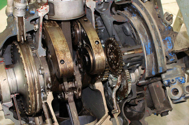 Car With Aircraft Radial Engine Car Free Engine Image